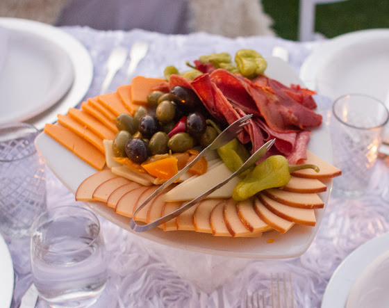 photo of a charcuterie platter