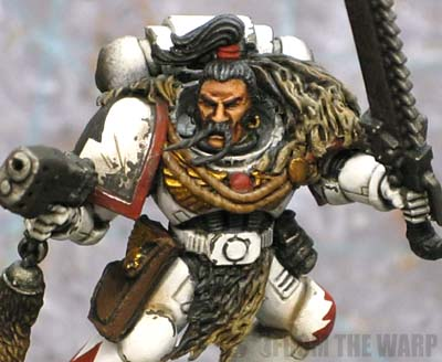 white Scar space marine closeup