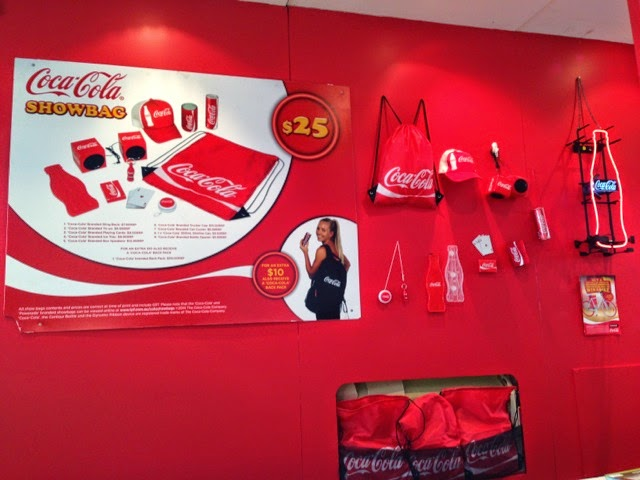 Sydney Royal Easter Show - Coca Cola Show Bag