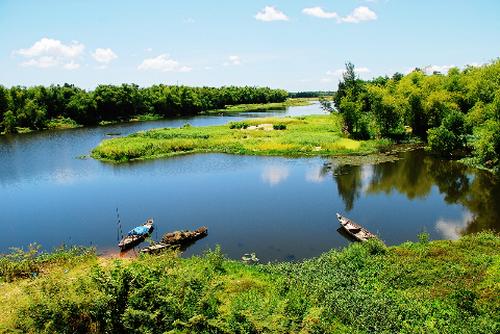 Những bài thơ hay viết về con sông quê hương