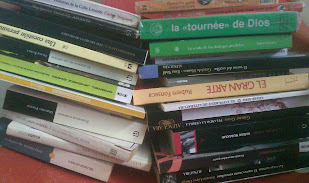 La sillita de los libros por leer... también en Caracas