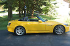 2005 Honda S2000 Sports Car Finished in Bright Yellow