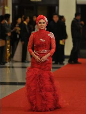 red carpet ask 2011 fida ibrahim