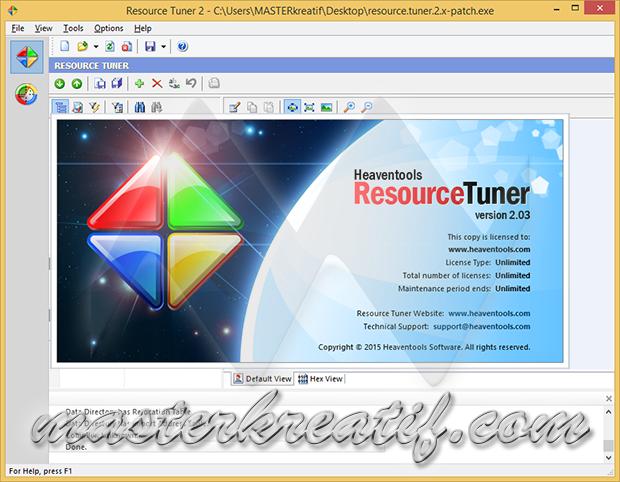 Resource Tuner 2.03