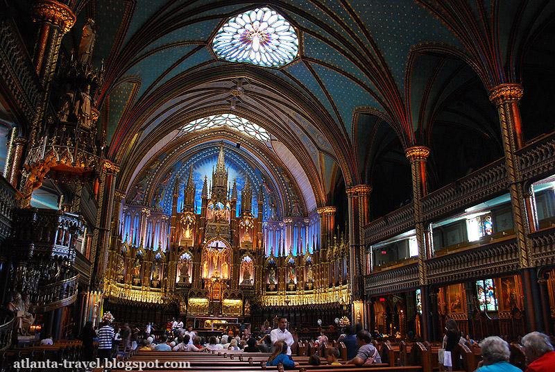 Базилика Нотр-Дам де Монреаль