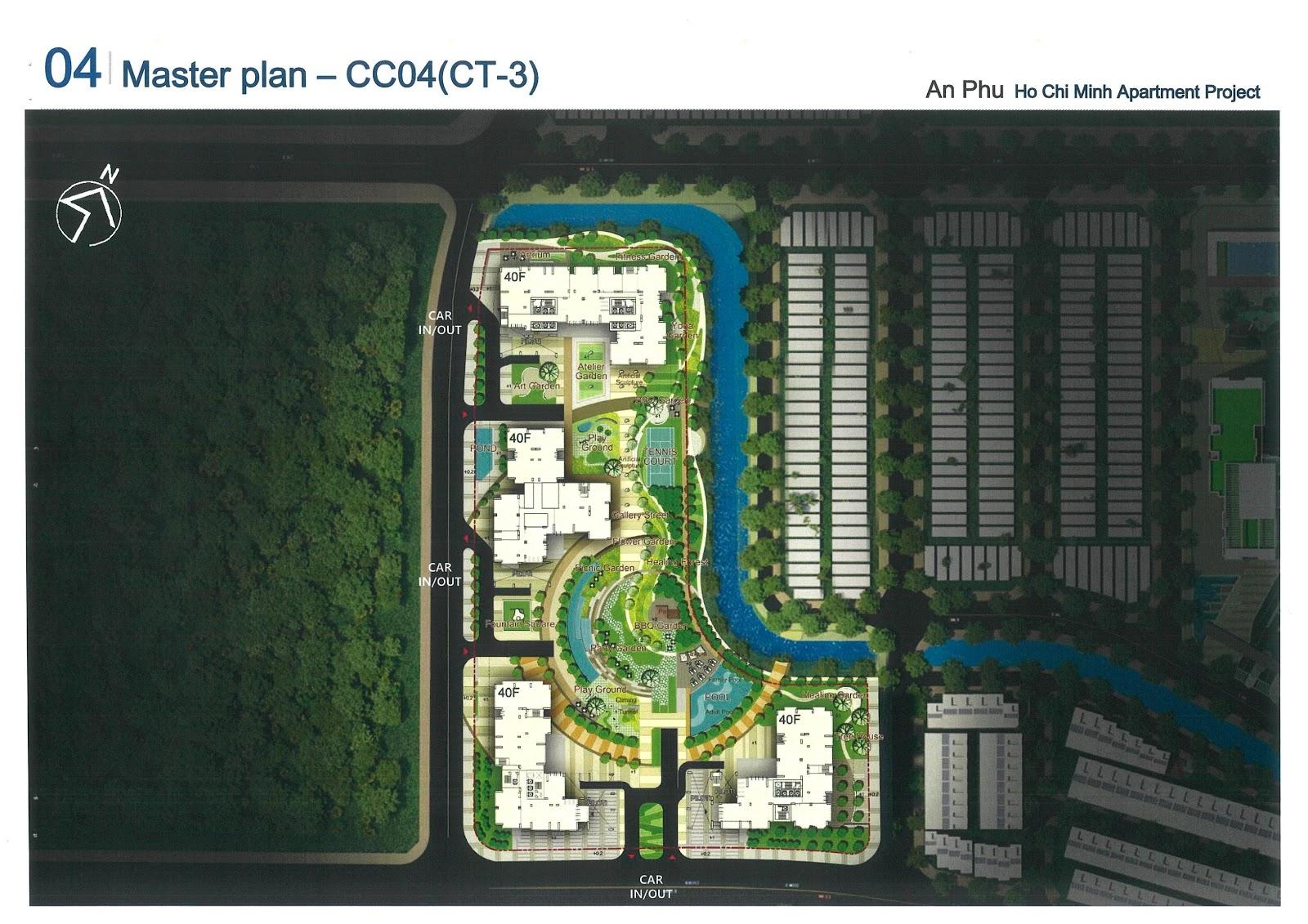 Mặt bằng cụm CT3 dự án Laimian City
