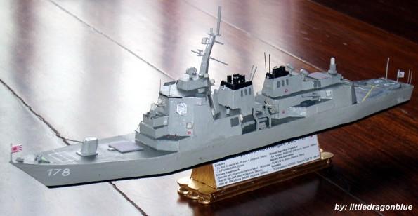 Contratorpedeiros - JDS Ashigara DDG178