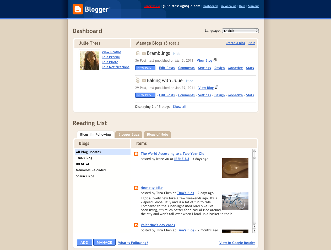 Official Google Blog: What's new with Blogger - photo#37