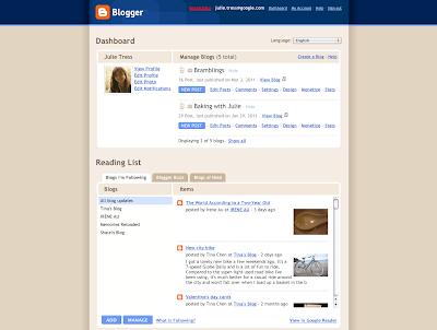 Nouvelle interface de blogger