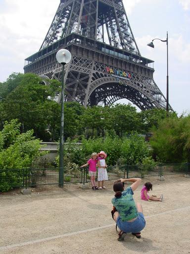Photo op in Paris