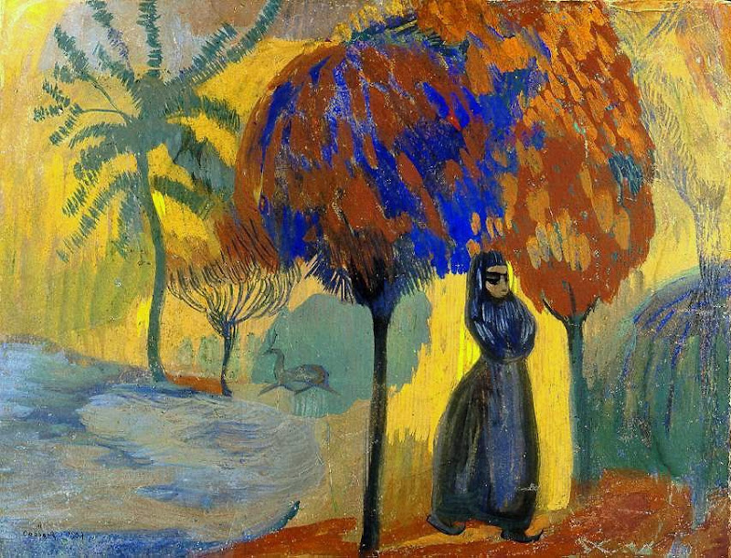 Martiros Saryan - Under the trees, 1907