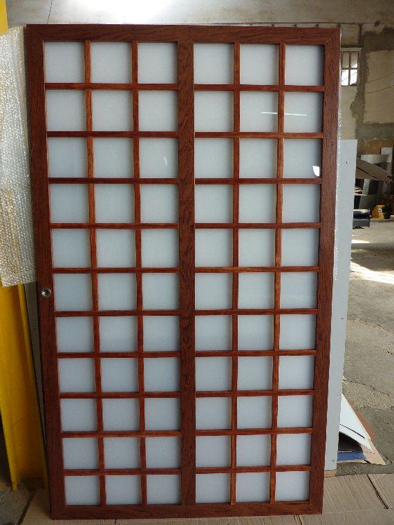Carpinteria muebles a medida mueble estilo japon s con for Puertas japonesas
