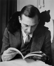 André Kertész and a cat