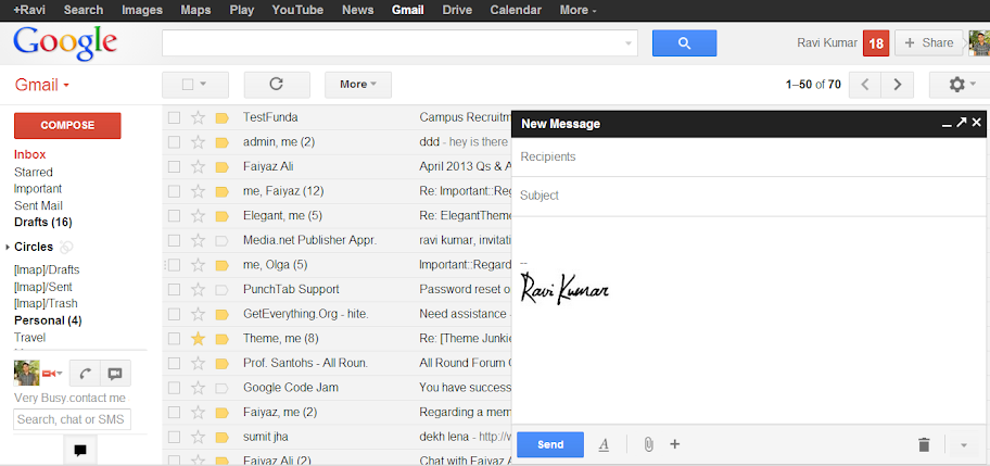 how to switch back to old compose mail mode in gmail