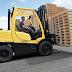 Xe nâng hàng 4 tấn 5tấn dầu Diesel HYSTER