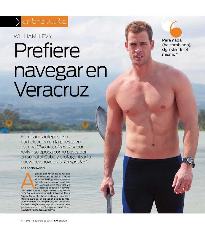 Revistas | William Levy Brazil