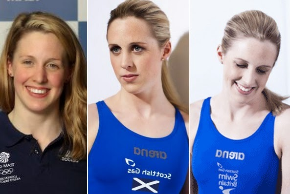 the top athlete of Scotland in 2014 Common Wealth games