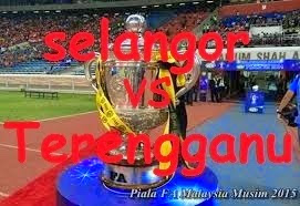 Keputusan terkini Selangor vs Terengganu Piala FA 18 Mac 2015