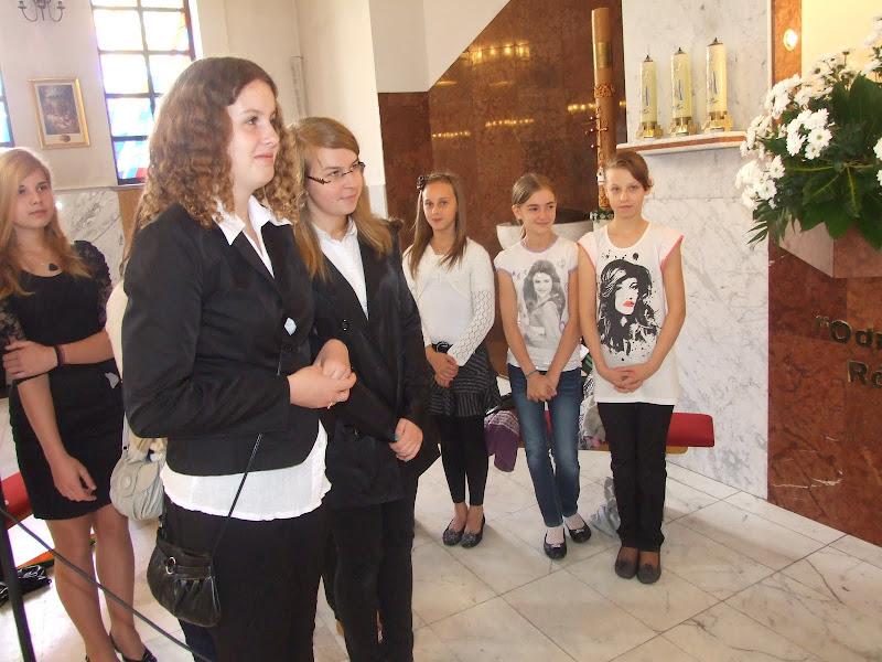 Msza św. na zakońzenie Roku Szkolnego 2011/2012