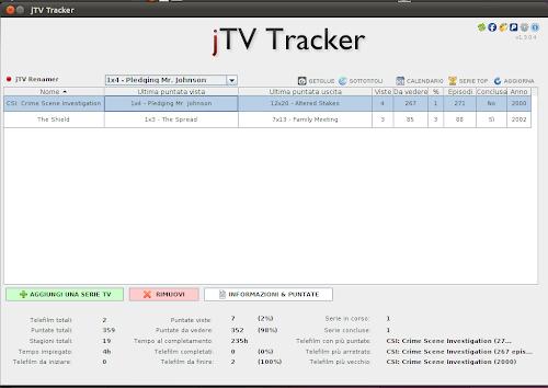 jTV Tracker