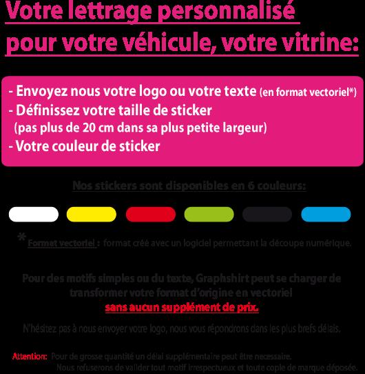 lettrage graphshirt.com