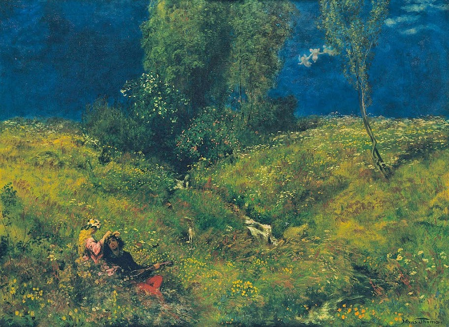 Hans Thoma - Sommer - Google Art Project.