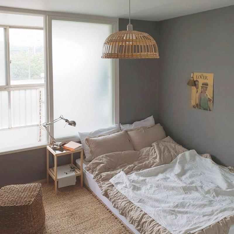 Những mẫu phòng ngủ phong cách Hàn Quốc đẹp hút hồn - Vua Nệm