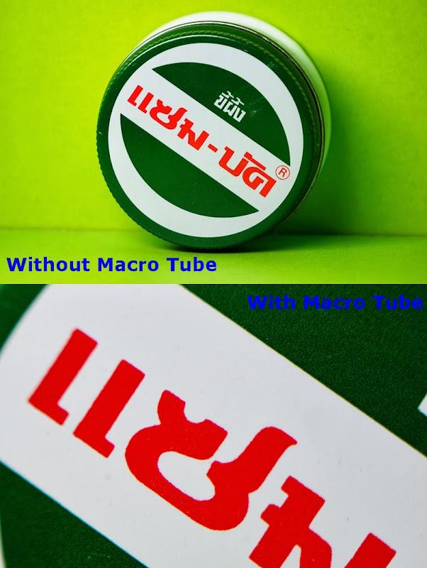 macro extension tube fuji fujifilm macro ท่อมาโคร