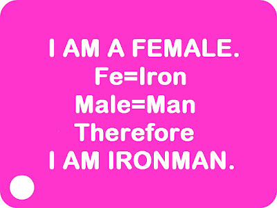 I am a female