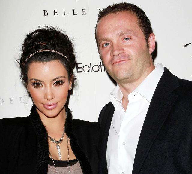 Jewelry Designer Pascal Mouawad and Kim Kardashian