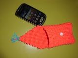 Funda smartphone ganchillo