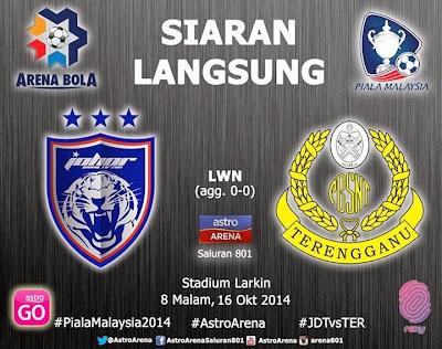 Johor DT vs Terengganu
