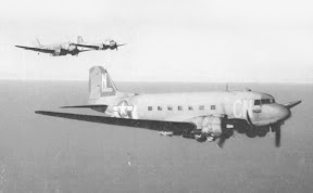 C-47 Skytrain Troop Carrier aircraft of the 73rd TCS