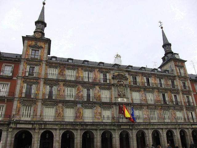 Plaza mayor viendo madrid - Casa de la panaderia madrid ...