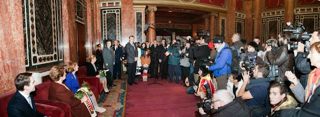 Album foto cu evenimentele la care a participat Familia Regală, 29 noiembrie - 1 decembrie 2013