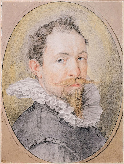 Hendrick Goltzius - Self-Portrait, c. 1593-1594 - Google Art Project