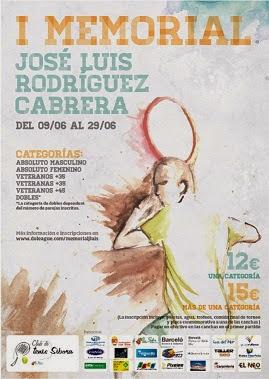 I Memorial J. L. Rodríguez Cabrera: un nuevo éxito para el club de tenis Sibora