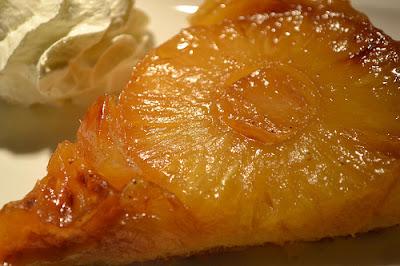 Tatin d'ananas au gingembre