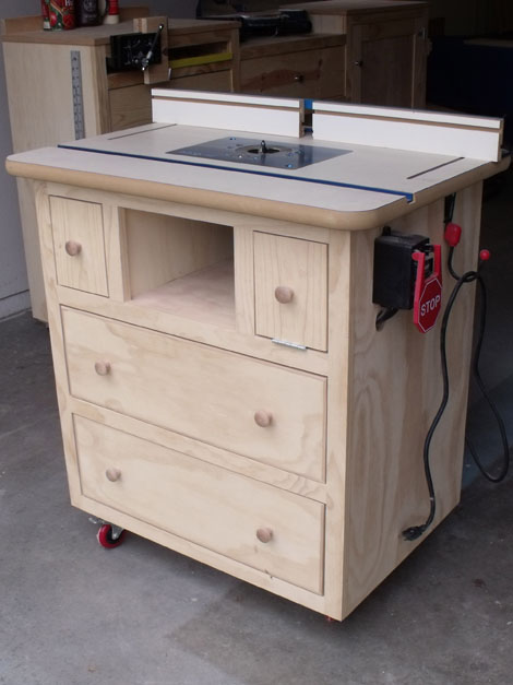 Ana White | Build a Patrick's Router Table | Free and Easy DIY