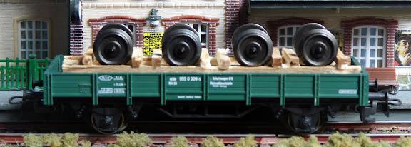 Märklin 4423: lageboordwagen