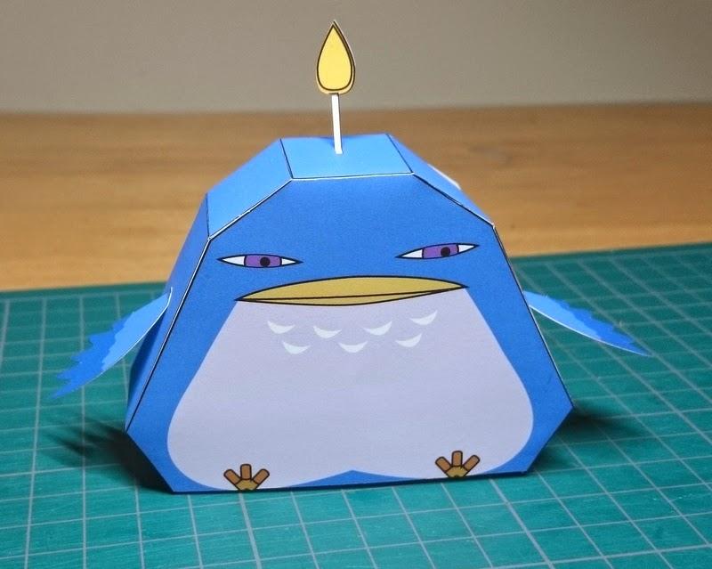 Yokai Watch Yokodori Papercraft