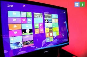 Windows 8 Metro UI desktop
