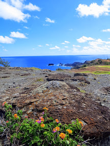 Beginning our walk towards Nakalele Blowhole