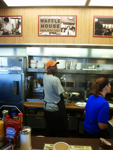 Operating the Grill at Waffle House, Archer Road