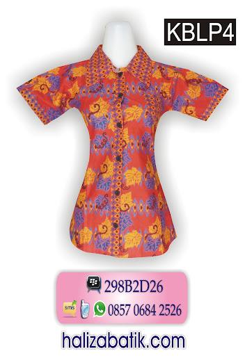grosir batik pekalongan, pakaian batik modern, blouse batik modern, batik wanita