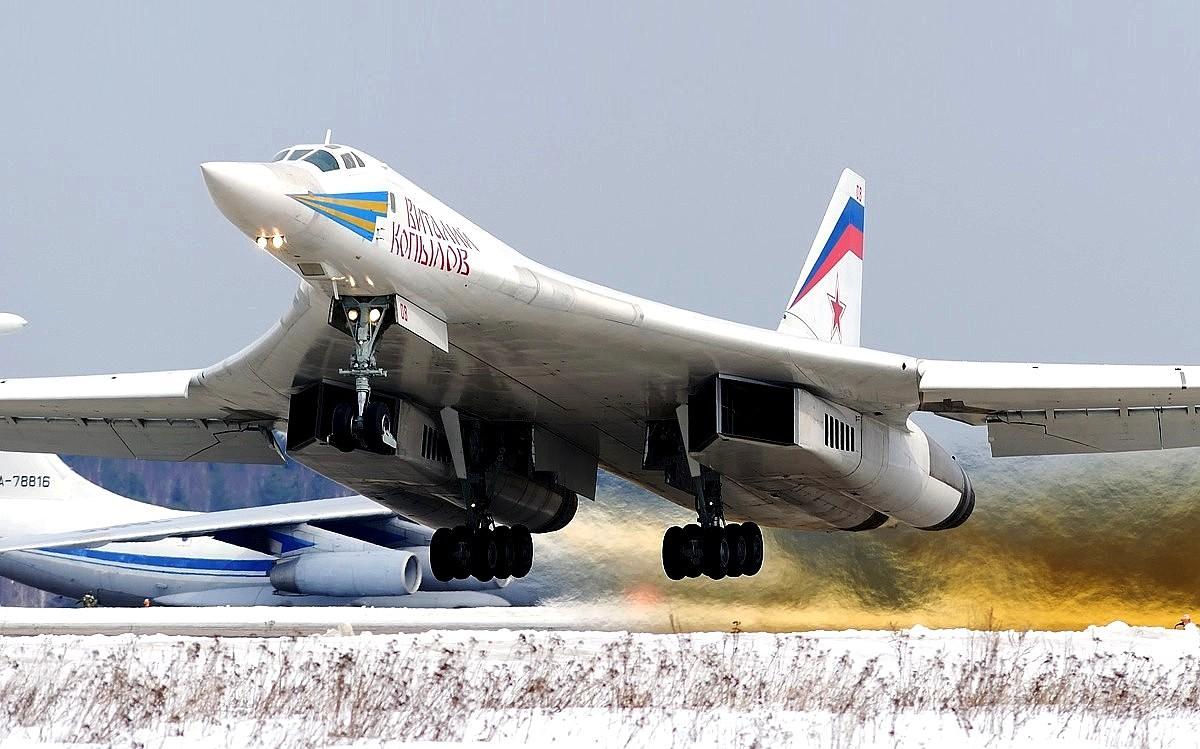 Tupolev Tu-160 Bomber Aircraft Wallpaper 2