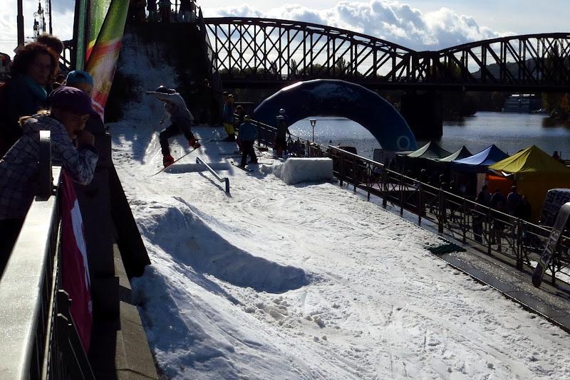 snowboard hill