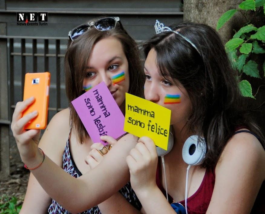 LGBT torino gay pride mama sono lesbiana