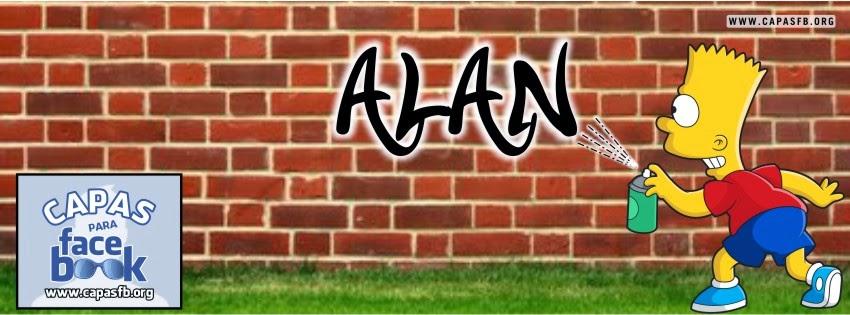 Capas para Facebook Alan
