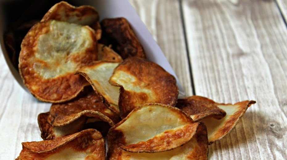 Homemade Potato Chips in the Avalon Bay Air Fryer